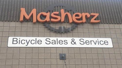 Here's a good bike shop...
