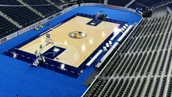 Connor Sports Delivers Basketball Conference Tournament Courts
