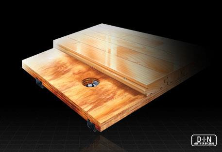 Focus Hardwood Sports Flooring by Connor Sports