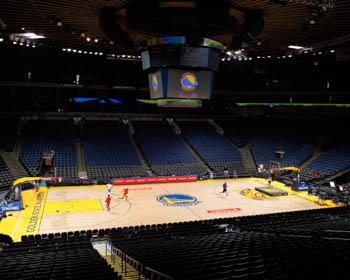 NBA Arena Floor