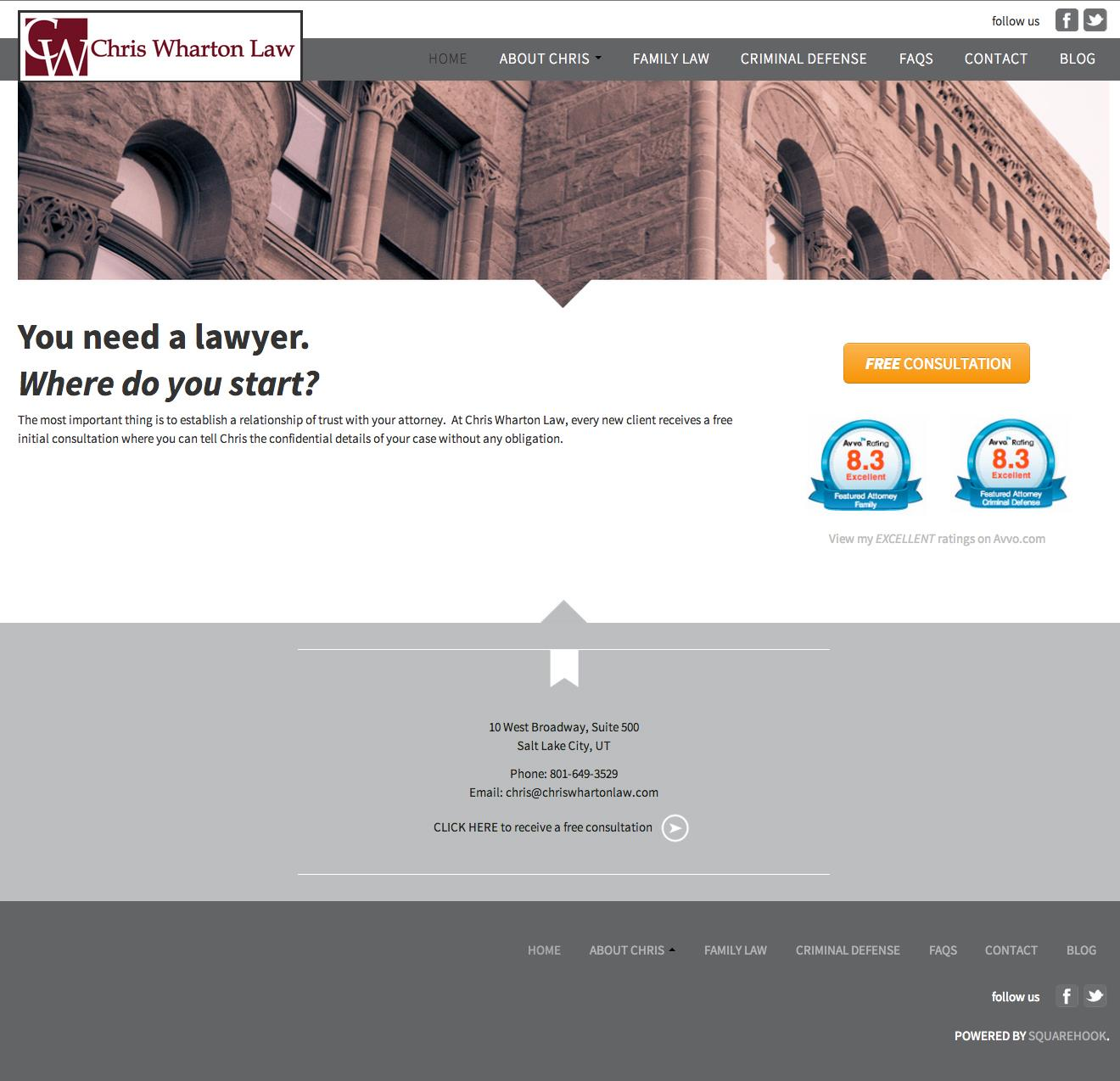 Chris Wharton Law