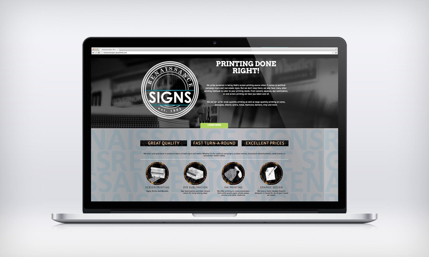Renaissance Signs Website