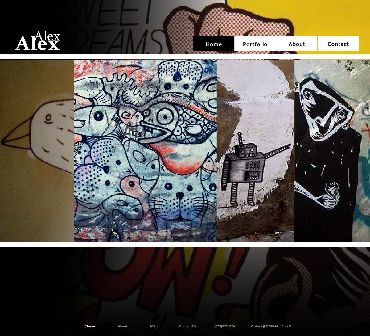 Comic Site Layout Option