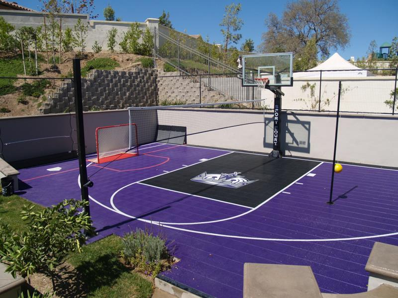 Sport Court® Game Court. This Family Built A Court. We Build Custom Courts  To Meet Any Familyu0027s Needs. Sport Court® Game Court