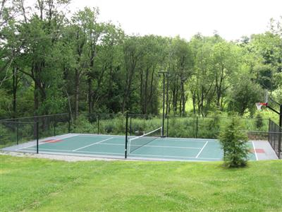 Gentil Backyard Tennis Court · Tennis