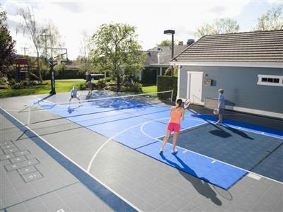 Backyard Tennis Court