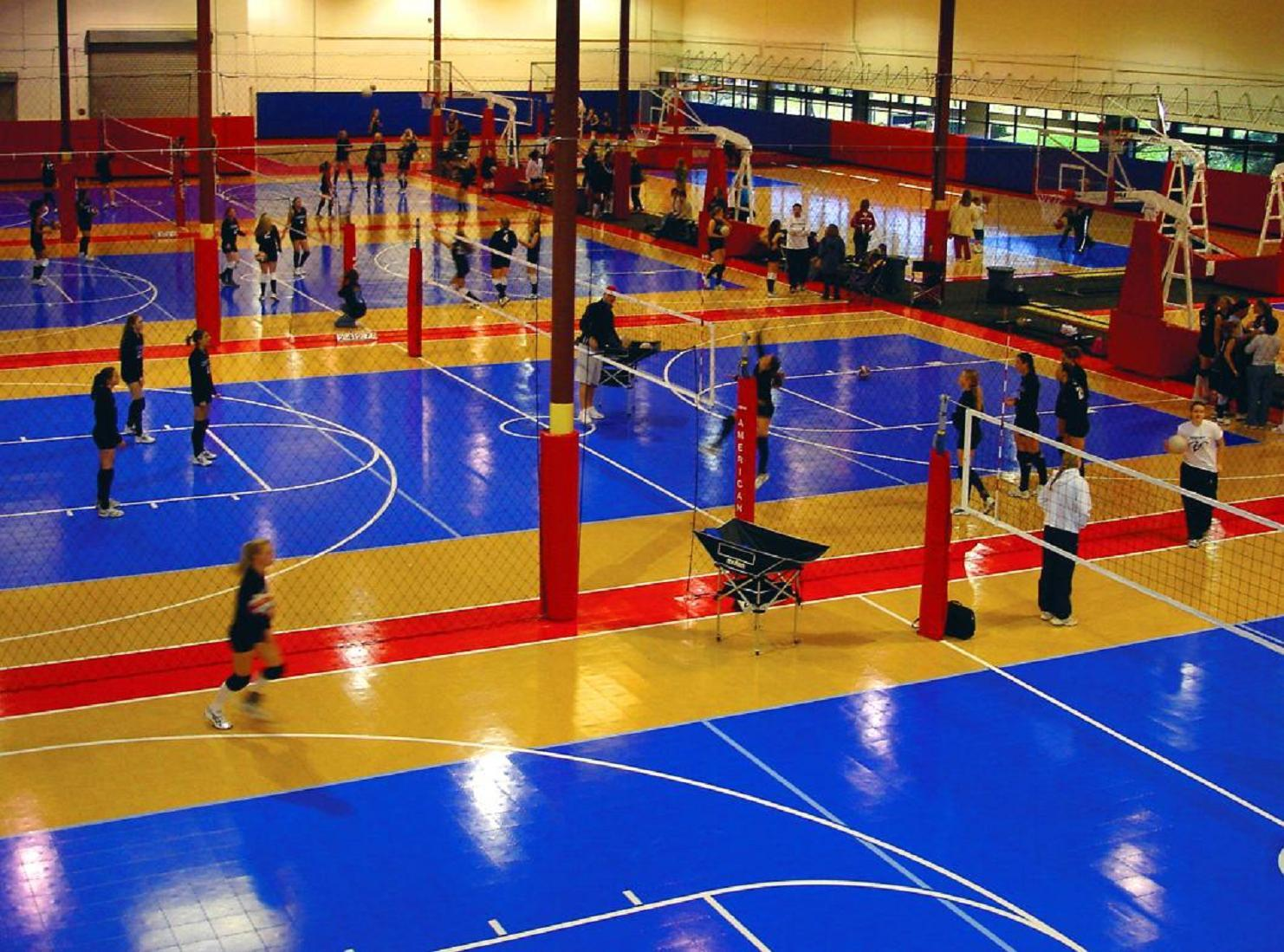 Volleyball Courts Sport Court