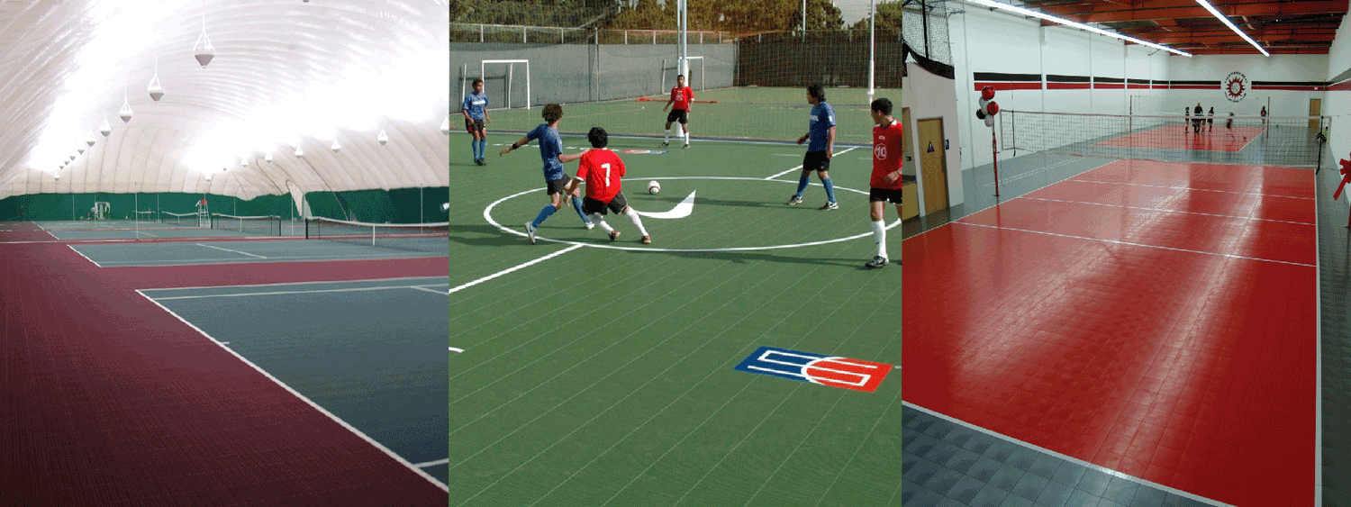 Design your own multi sports basketball or tennis court for How much does it cost to build a sport court