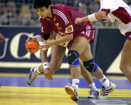 Handball arena flooring by Connor Sports