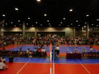 National Volleyball Championships Played In Atlanta On Surfaces Provided By Sport Court
