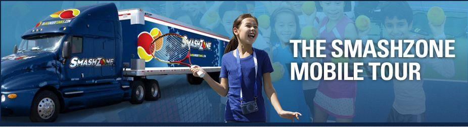 Sport Court Goes Mobile With the U.S. Open SmashZone Tour