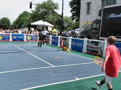 CVTA bringing the USTA Georgia 10 and Under Sport Court Tour to First Friday concert