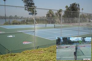 Sport Court & United States Tennis Association Contribute Courts for use by Service Men and Women