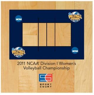 Sport Court Courts Highlights the NCAA Division I Women's Volleyball Championship in San Antonio