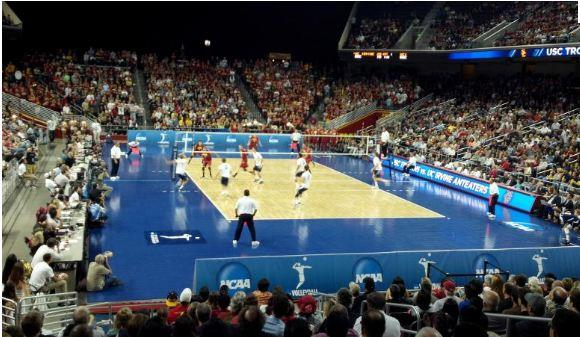 SPORT COURT SUPPLYING SURFACE FOR 2012 NCAA® MEN'S VOLLEYBALL NATIONAL COLLEGIATE CHAMPIONSHIP