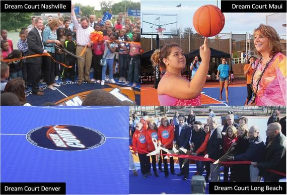Sport Court Brings Kids Dreams to Life Across US