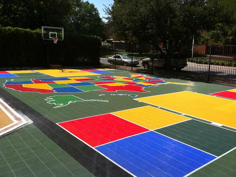 Gym Floors For Schools Sport Court