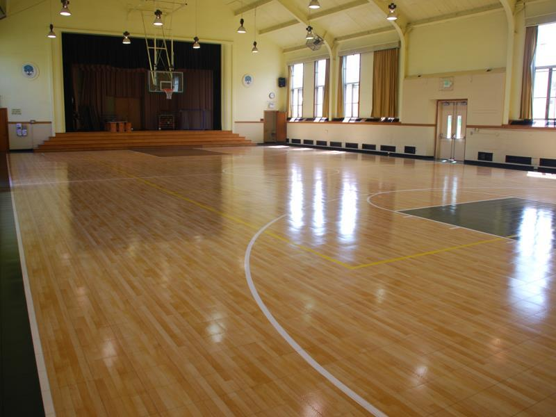 Gym floors for church and faith facilities sport court for Basketball gym floor plan