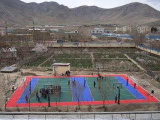 Sport Court game court at Olympic Sports Complex in Kabul Afghanistan